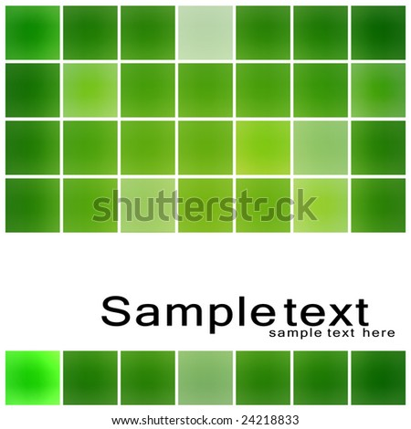 Green Grid, modern design concept