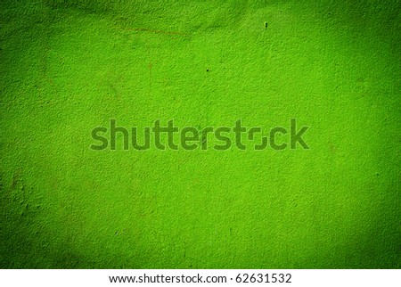 Green grunge cement wall texture
