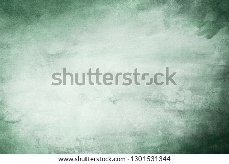 Green grungy background or texture  #1301531344