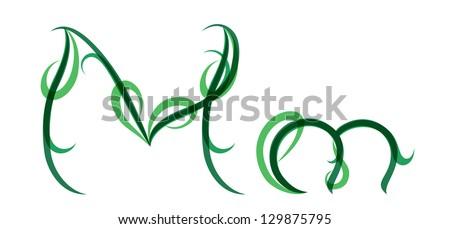 Green Letter m Logo Green Letter m Logo Green