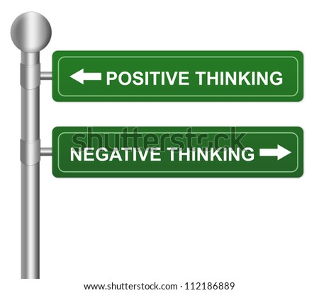 how to change negative thinking to positive