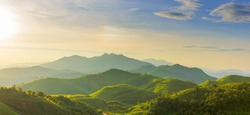 green hill mountain range