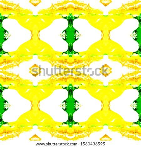 Green Horizontally seamless design. Ethnic Ornament Print. Ethnic Ornament Print. Plastic Gold Tile Dressing element Antique Element Green Kaleidoscope Pattern Floral Elements Floral Elements