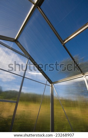 green house, environment protection