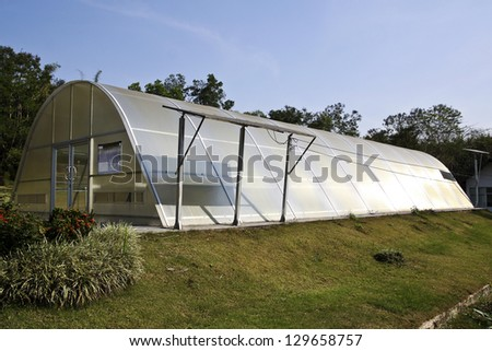 Green house solar drying systems station