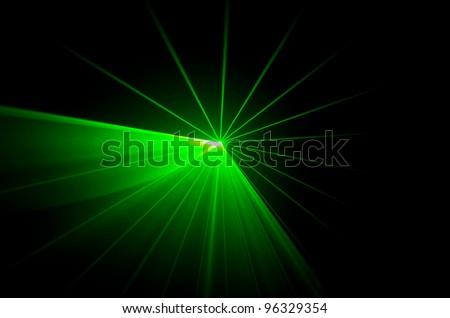 green laser disco