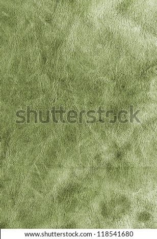 Green leather suede background texture