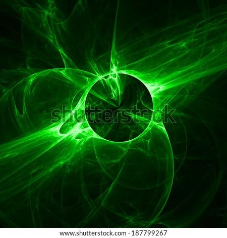 Green Light Effects Background Green Light Effects