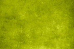 Green lime grungy wall backdrop or texture