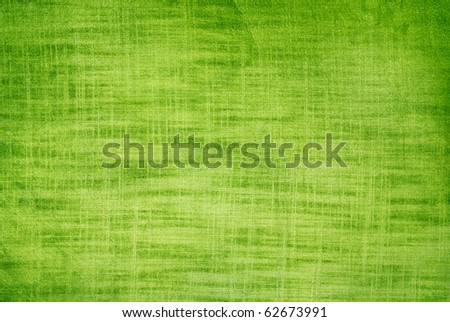 Green linen texture of background