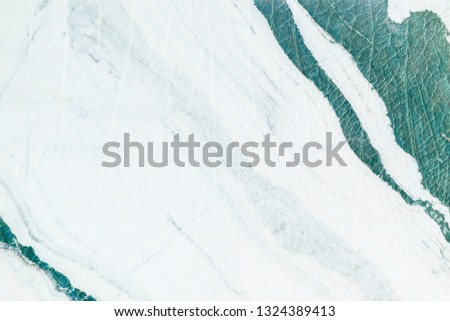 Green marble textured background #1324389413