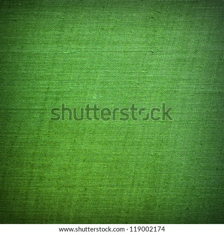 Green material texture or background