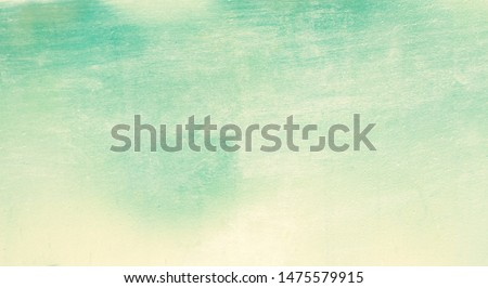Green metal and board background