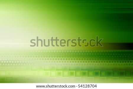green modern abstract background design