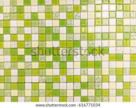 green mosaic tiles,green tiles,mosaic tiles , wall tiles ,floor tile #616771034