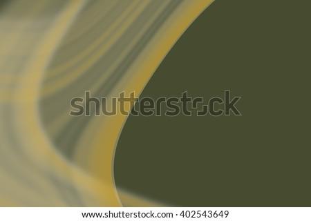 Green mystic distortion of ectoplasm, digital art work. #402543649