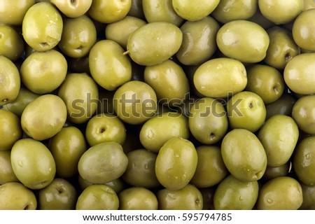 Green olives background #595794785