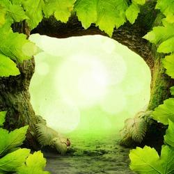 Green Paradise Background