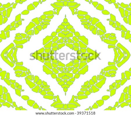 Green pattern, repeating background