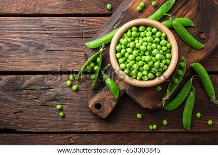 Green peas Stockfoto ©