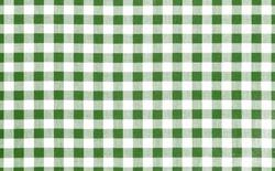 Green picnic cloth pattern wallpaper background.Kitchen menu backdrop.Retro fabric surface transparent.