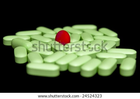 Small Round Green Pill