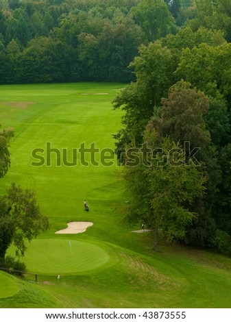 Green places for golf game