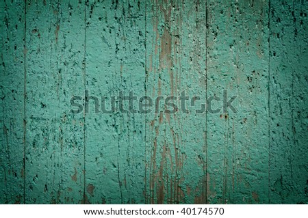 green plank wood background texture