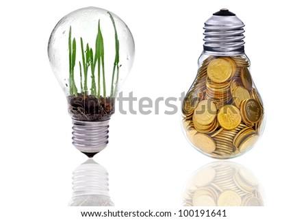 Green renewable energy farm it is near future