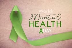 Green Ribbon, world Mental health day
