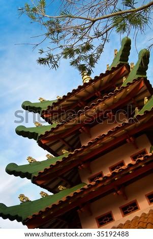 Green Roof Pagoda
