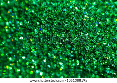 green shiny powder, shiny green background #1051388195