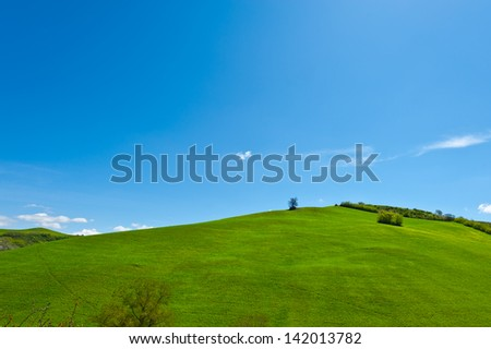 Green Sloping Meadows of Tuscany #142013782