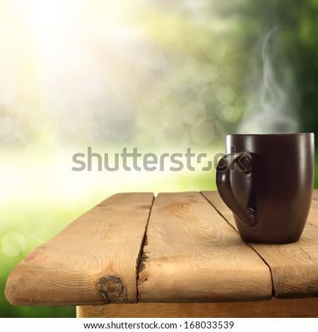 Green Space And Mug