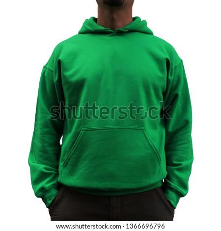 Green Sweatshirt Hoodie Mens