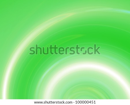 Green swirl abstract background - energy of spring