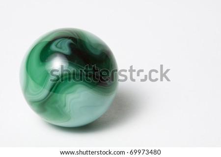 Green Swirl Marble