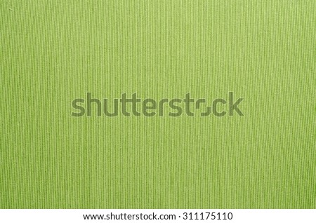 Green tablecloth texture closeup texture background