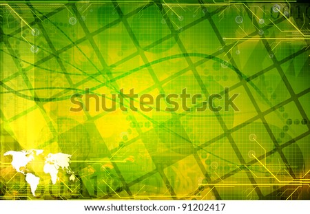 Green  technology Background