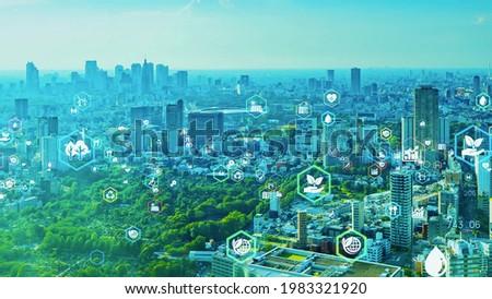 Green technology. Environmental technology concept. Sustainable development goals. SDGs.