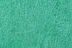 green texture from the foam sponge surface