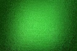 Green Textured back lighted window of a door