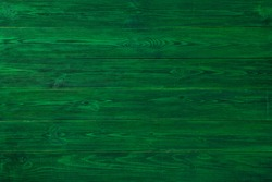 Green textured boards. Background of green textured boards. Green textured wooden background