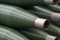 Green Thread raw material for fishing net.