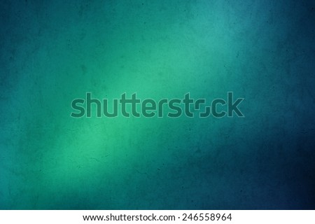 green to blue gradient grunge abstract background