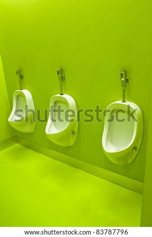 green toilets