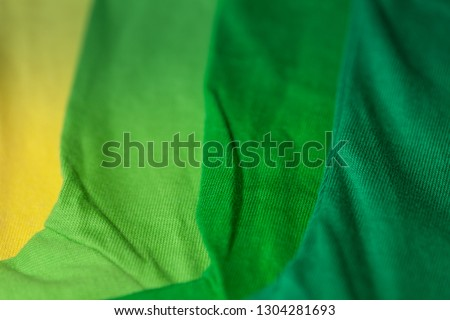 green tone color color tee shirts. colorful of 100 percent cotton tee shirts in tee shirt factory