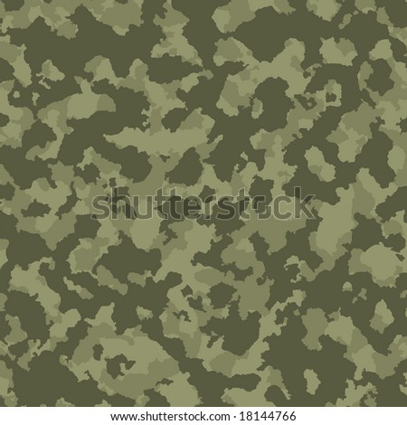 Green tones military camouflage
