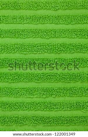 green towel texture