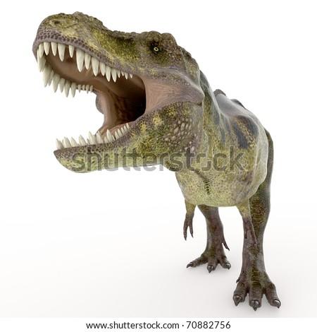 green tyrannosaurus